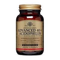 Пробиотик Solgar Advanced 40+ Acidophilus 60 вег. капсул