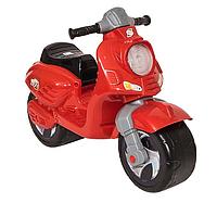 Скутер мотоцикл каталка толокар ОРИОН 502 красный