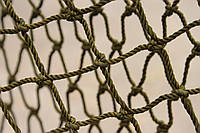 Капроновая узловая дель ячейка 40 мм. нитка 187 tex*24 (3,1 мм) 80 ячеек, фото 1