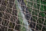 Ячея 45 мм   Капроновая узловая дель, нитка 187 tex*3 (1,2 мм.) Ширина 90 ячеек. Сетка капроновая., фото 2