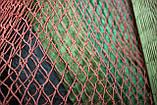 Ячея 45 мм   Капроновая узловая дель, нитка 187 tex*3 (1,2 мм.) Ширина 90 ячеек. Сетка капроновая., фото 3