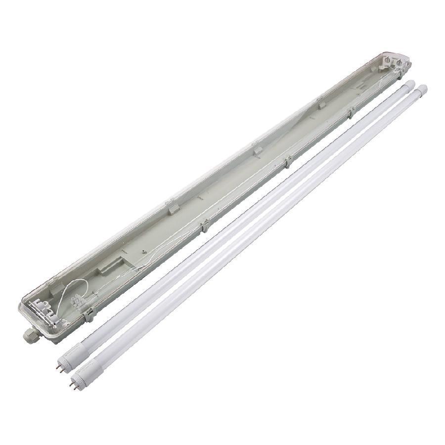 Светильник пром. EVRO-LED-SH-40 2*1200 SLIM с LED лампами 6400К