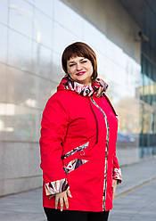 Ветровка женская с капюшоном большие размеры интернет магазин размеры 54-62