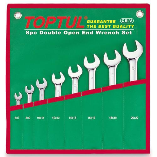 Набор рожковых ключей 8 шт. 6-22мм GAAA0812 TOPTUL