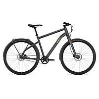 "Велосипед Ghost Square Urban 3.8 28"" рама M, серо-коричнево-черный,  2019 (ST)"