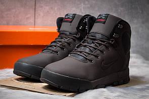 Зимние мужские ботинки 30522, Nike LunRidge, коричневые, < 42 > р. 42-27,5см.