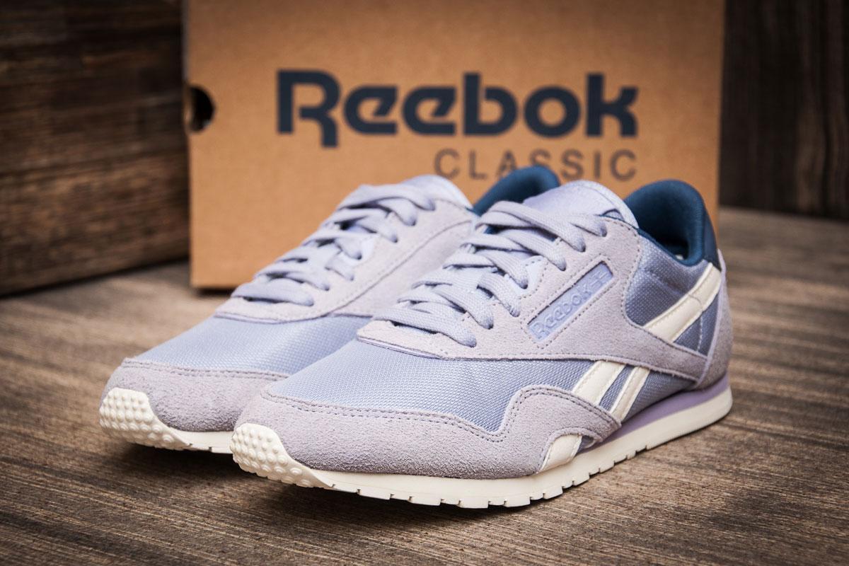Кроссовки женские 70560, Reebok Classic Nylon  ( 100% оригинал  ), фиолетовые, [ 36 37 ] р. 36-23,0см.