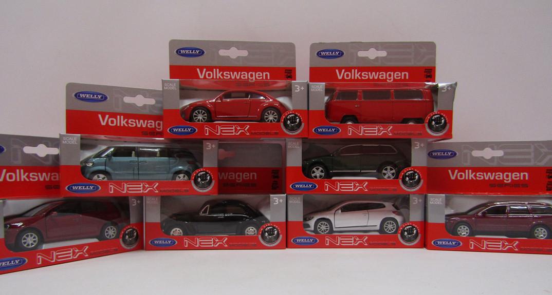 Welly. Модель 1:34-39 VW 8моделей /96/