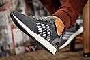 Кроссовки мужские 15331, Adidas Iniki, серые, [ 43 44 46 ] р. 43-27,5см., фото 4