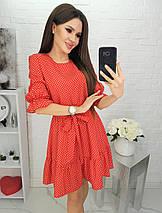 Женское платье в горошек, фото 2