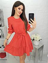Женское платье в горошек, фото 3