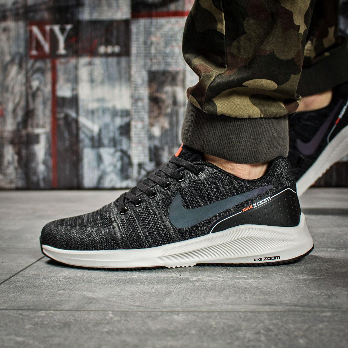 Кроссовки мужские 15981, Nike Zoom Air, темно-серые, [ 43 ] р. 43-26,5см.