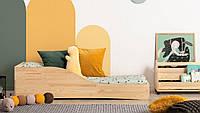 Детская кровать подростковая MWood сосна Кубик-14