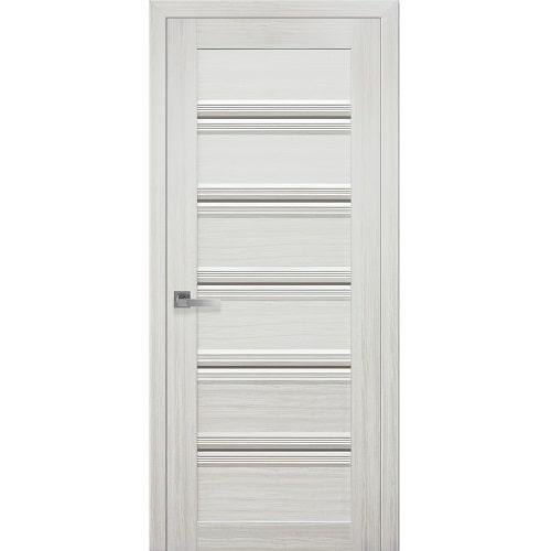 Дверное полотно Виченца С1 стекло BR (бронза) жемчуг белый