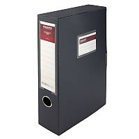 "Папка-коробка пласт.на лип. А4""Axent"" 60мм сіра 1760-03-A"