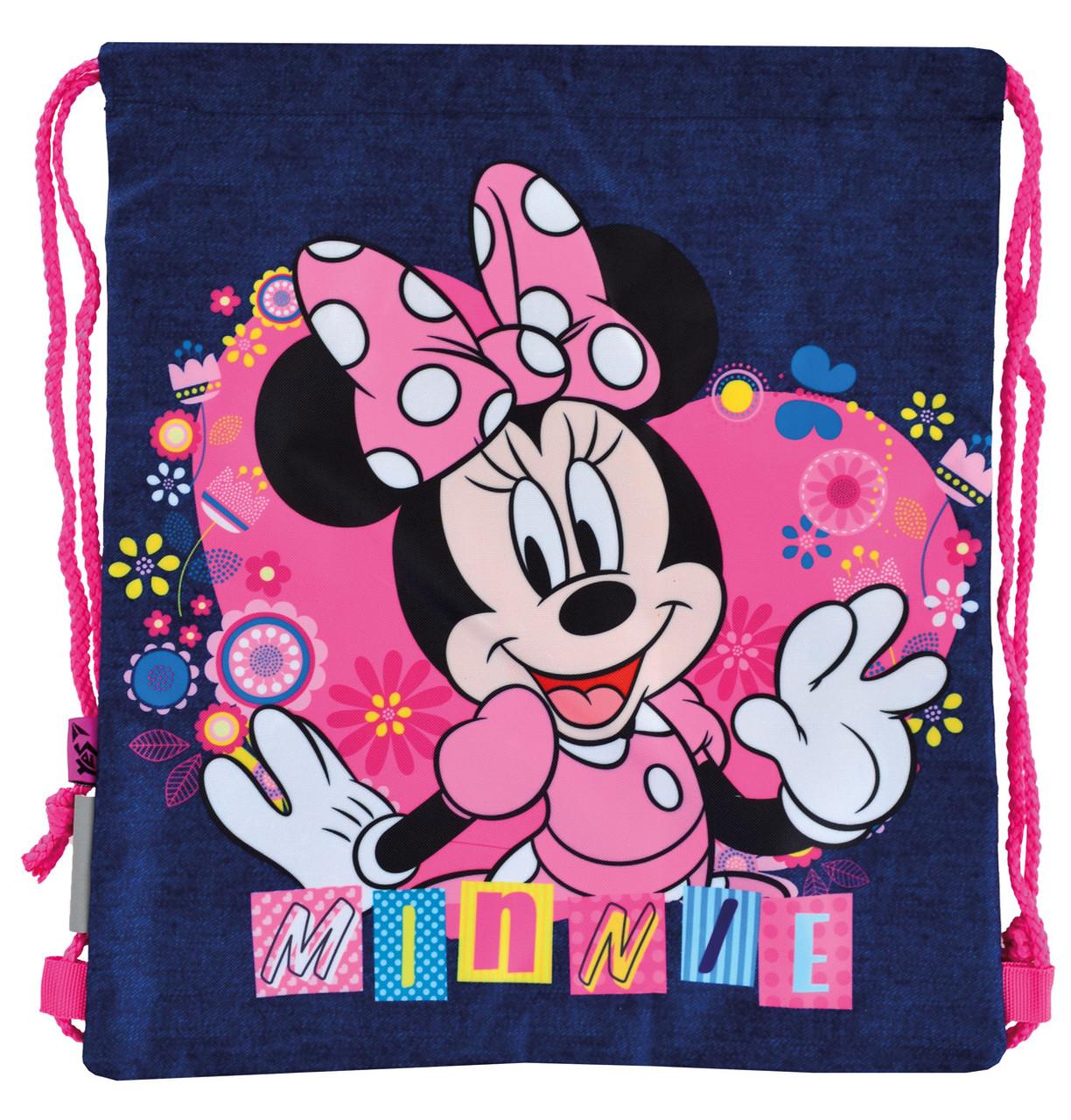 """Сумка дитяча  для взуття """"Yes"""" з карманом SB-10 Minnie 556253"""