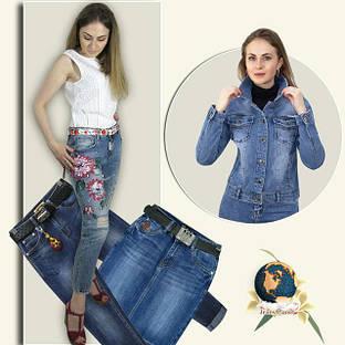 Жіноча джинсова колекція