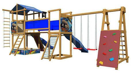 Детская площадка SportBaby синяя горка / Детские площадки, фото 2