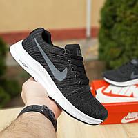 N1ke Zoom  Racer чёрные найк зум кроссовки мужские кросовки