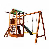 Деревянный игровой комплекс SportBaby /Детские площадки, фото 3
