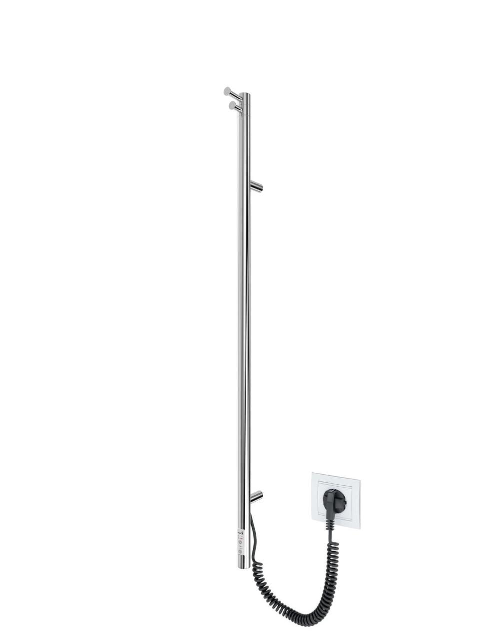 Электрический полотенцесушитель MARIO Рей-I 1100x30/130 TR таймер-регулятор
