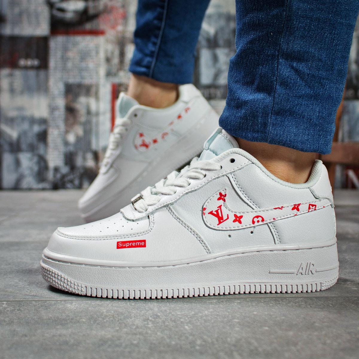 Кроссовки женские 15801, Nike Air, белые, [ 37 ] р. 37-23,4см.
