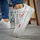 Кроссовки женские 15801, Nike Air, белые, [ 37 ] р. 37-23,4см., фото 4