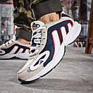 Кроссовки мужские 15913, Adidas Galaxy, бежевые, < 44 > р. 44-28,5см., фото 4