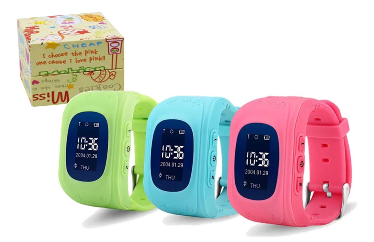 Умные детские GPS часы Smart Q50