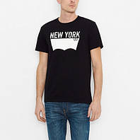 Мужская футболка Levis Nyc City Tee - Black