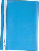 "Швидкозшивач пласт. А4 ""Buromax"" блакитний  BM.3311-14"