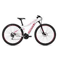 "Велосипед Ghost Lanao 2.9 AL W 29"", рама M, бело-розовый,  2019 (ST)"