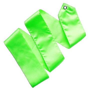 Лента гимнастическая (Цвет : зелёный)