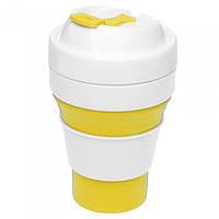 Складна чашка, 355 мл, з харчового силікону, фото 1