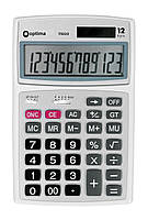"Калькулятор ""Optima"" наст. 12роз. O75522"