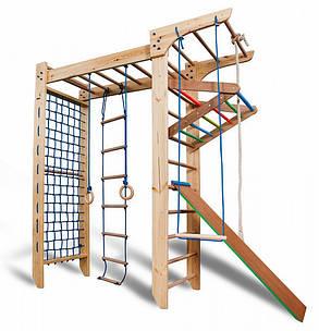 Детский деревянный уголок «П-образный Kinder 5-240» ТМ SportBaby для детей от 6 лет, фото 2