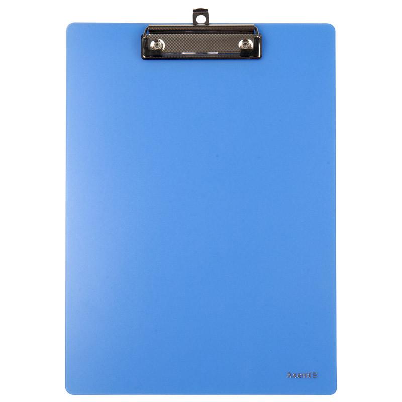 """Планшет А4 """"Axent"""" пласт. блакитний 2515-07-A"""