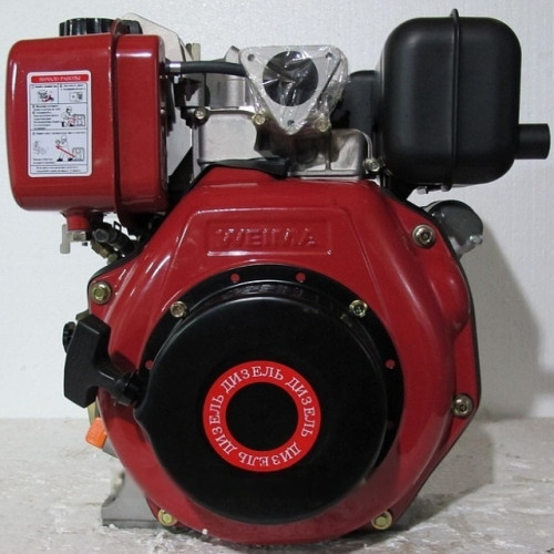 Дизельный двигатель WEIMA WM178F ( шлиц 25 мм), дизель 6.0л.с.