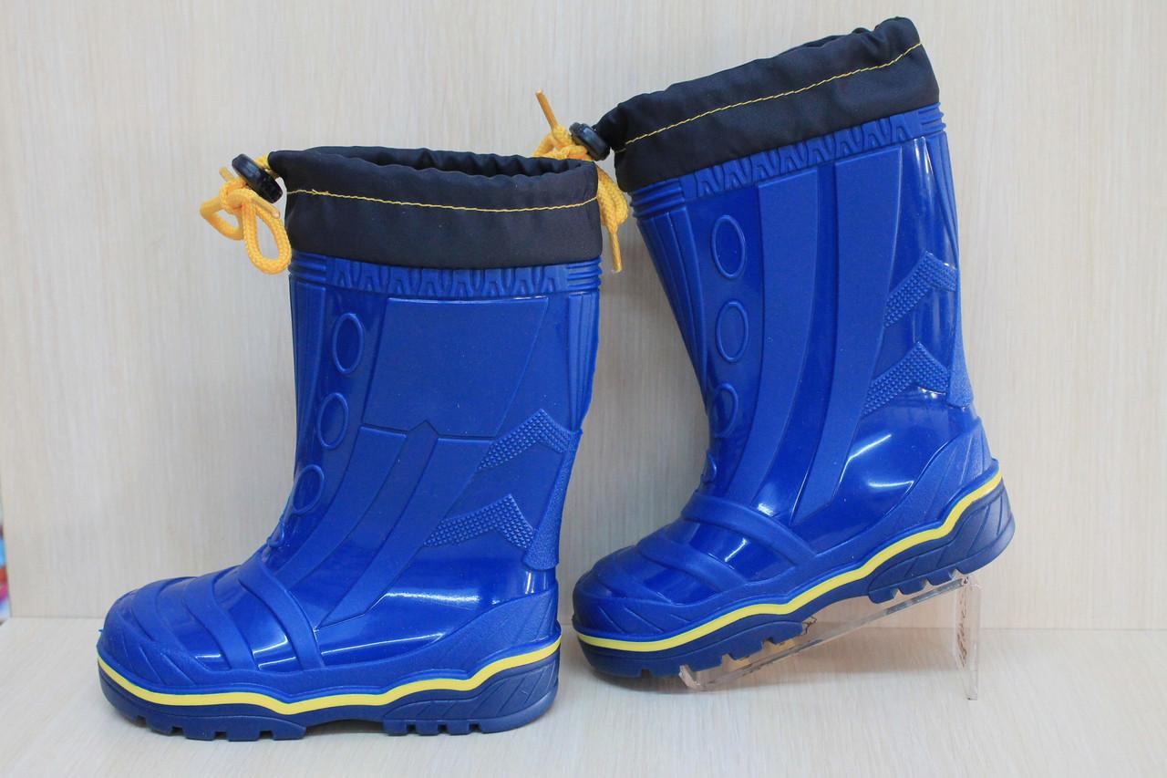 bbfe81e63 Резиновые сапоги на мальчика и девочку, резиновая обувь, синие силиконовые  сапожки