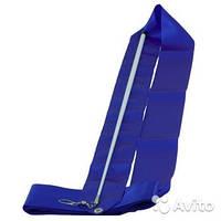 Лента гимнастическая (Цвет : синий)