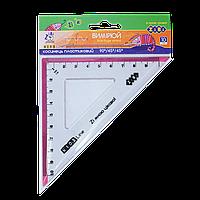 "Трикутник.""Zibi"" 100мм, з рожевою смужкою  ZB.5620-10"