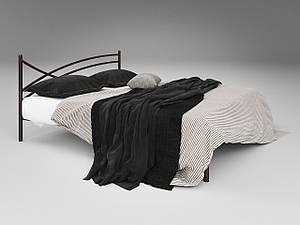 Двуспальная кровать Гвоздика Tenero на ножках с изголовьем металлическая