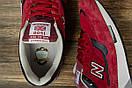 Кроссовки мужские 16709, New Balance 1500, бордовые, [ 42 45 ] р. 42-26,5см., фото 5