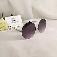 Круглые стильные солнцезащитные женские очки