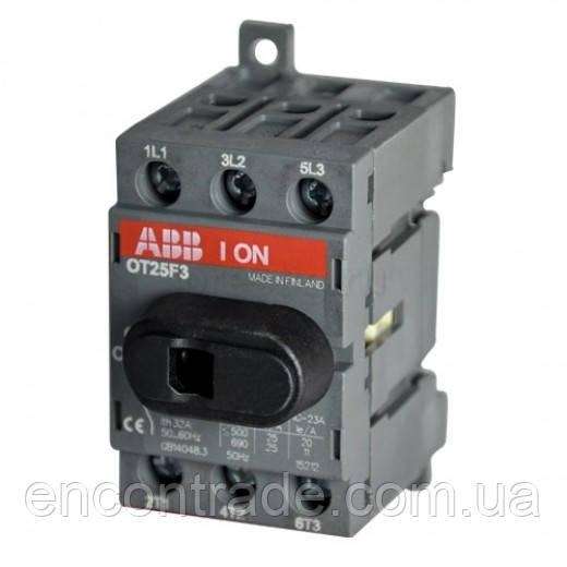 1SCA104857R1001 Выключатель нагрузки  ABB OT25F3