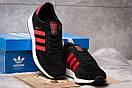Кроссовки мужские 14884, Adidas Iniki, черные, [ 46 ] р. 46-29,5см., фото 3