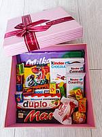 """Подарочный набор сладостей в коробке """"Beauty Sweet Box"""""""