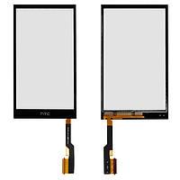 Touchscreen (сенсорный экран) для HTC One M8, One M8 Dual SIM, One M8e, черный, оригинал