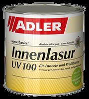 Лазурь - цветная пропитка  для дерева на водной основе Innenlasur UV 100 Adler
