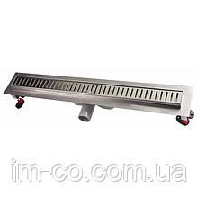 Лінійний трап Q-tap з гратами 600*660 CRM